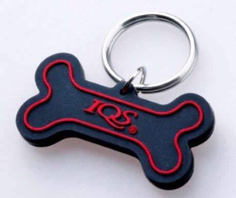 red dog pendant